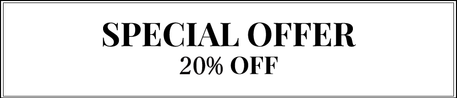 Special Offer 20% OFF