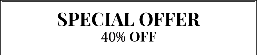 Special Offer 40% OFF
