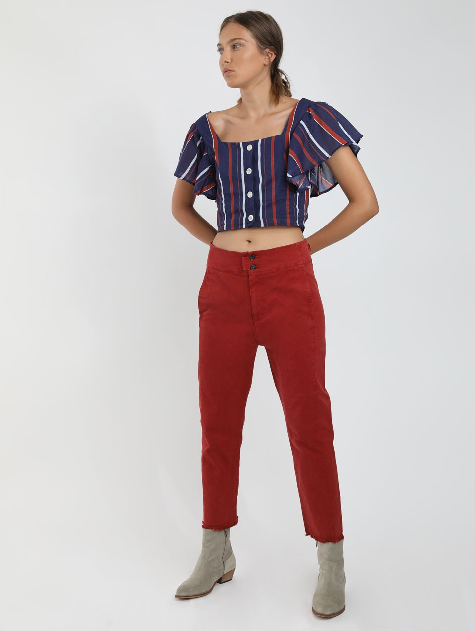 Tad Cropped Pants