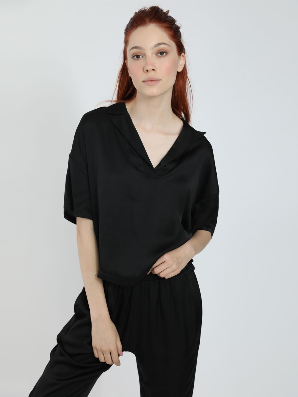 Natalia Polo Blouse