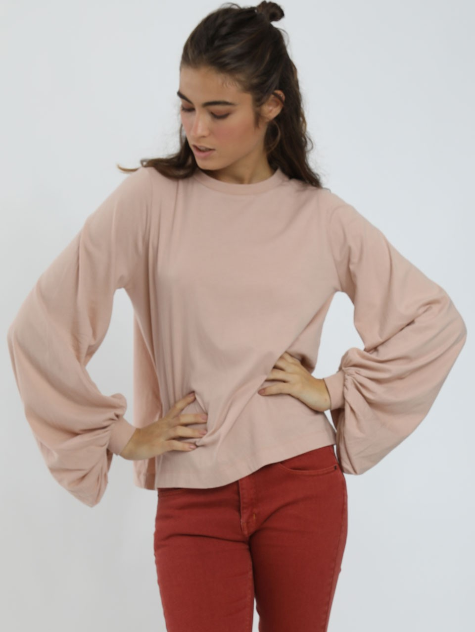 Puffy Sleeves Nicky T Shirt