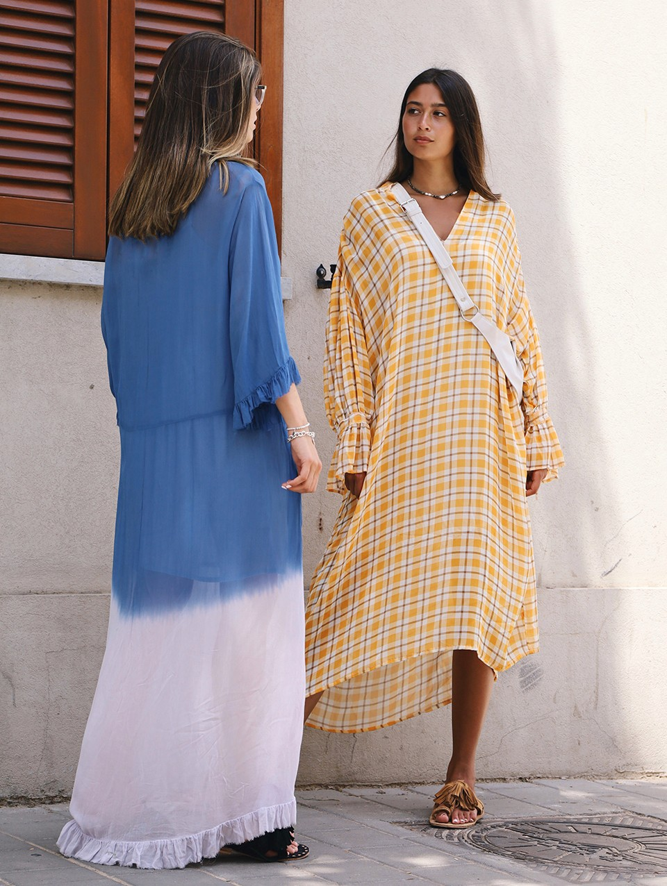 Havana Oversized Midi Dress