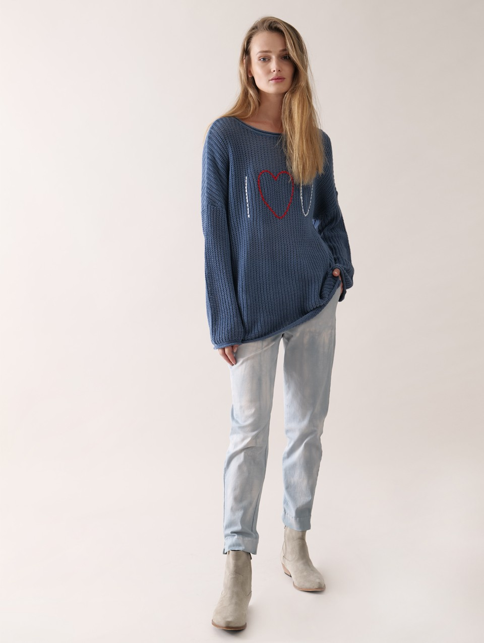 Sigi Oversized Embo Knit