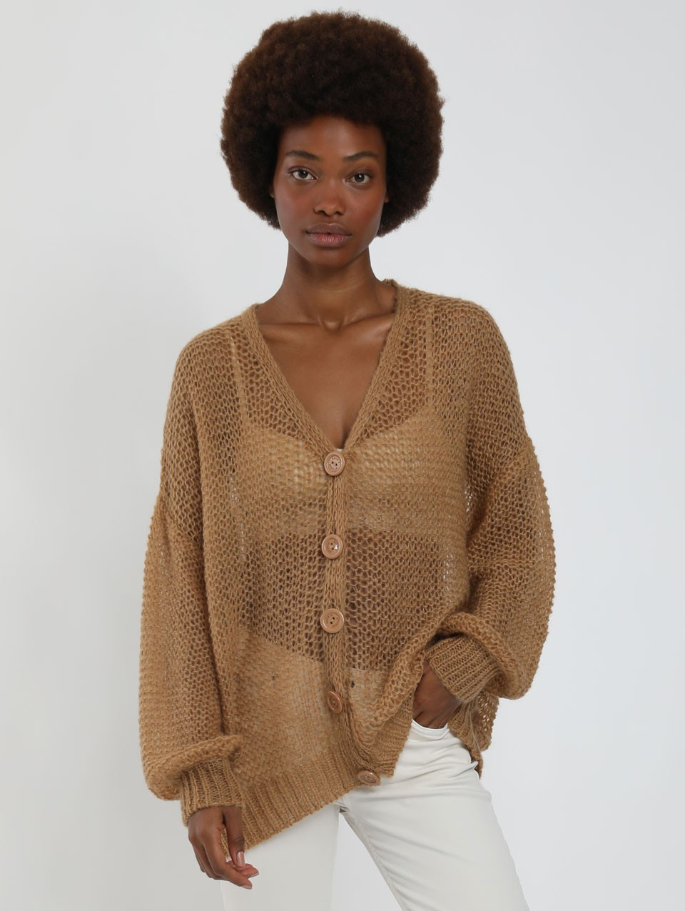Talia Oversize Knited Cardigan