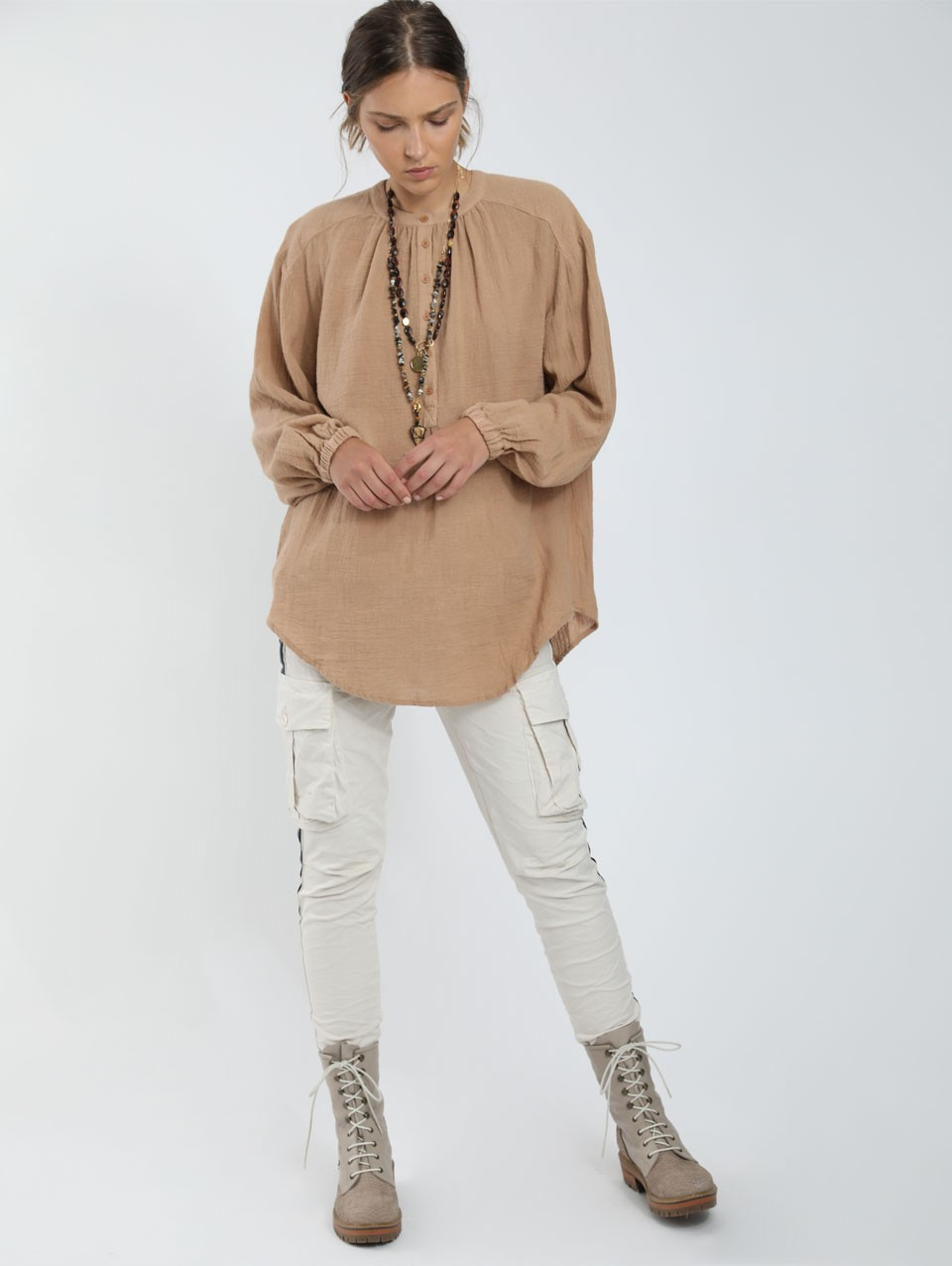 Dora Placket Blouse