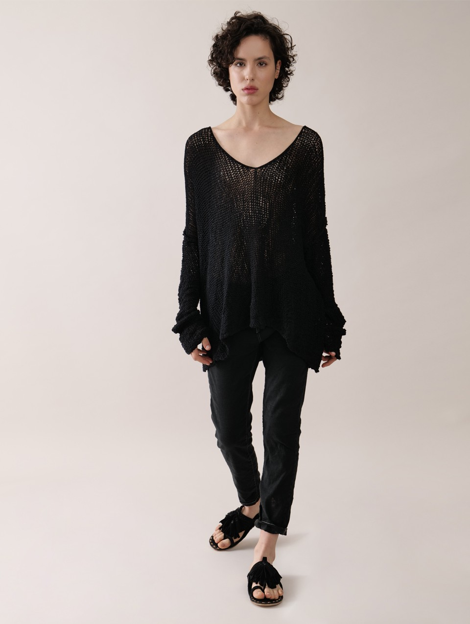 Natasha V-Neck Oversized