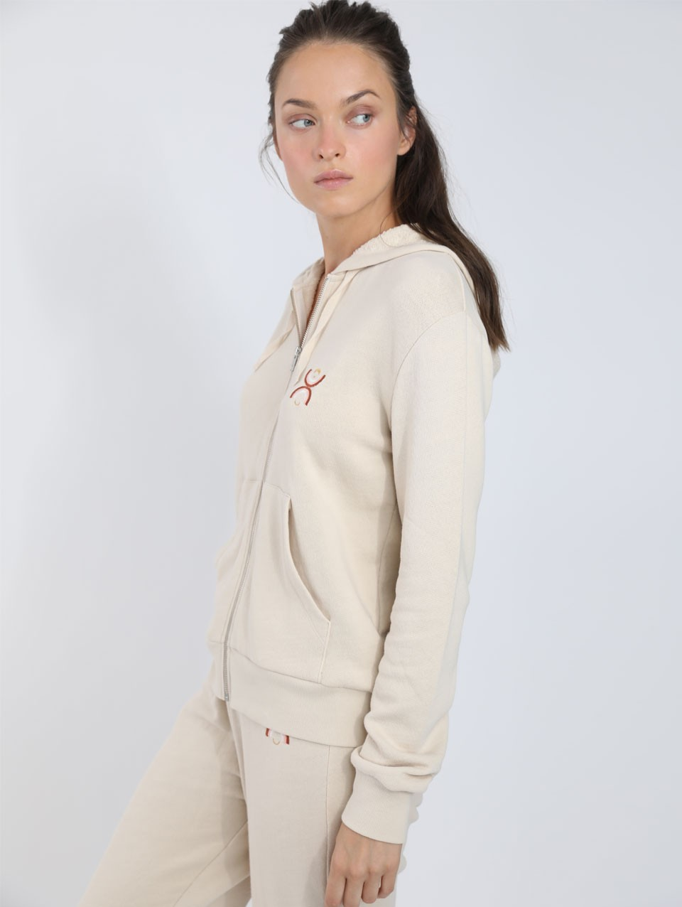Anna Embroidered Hoodie