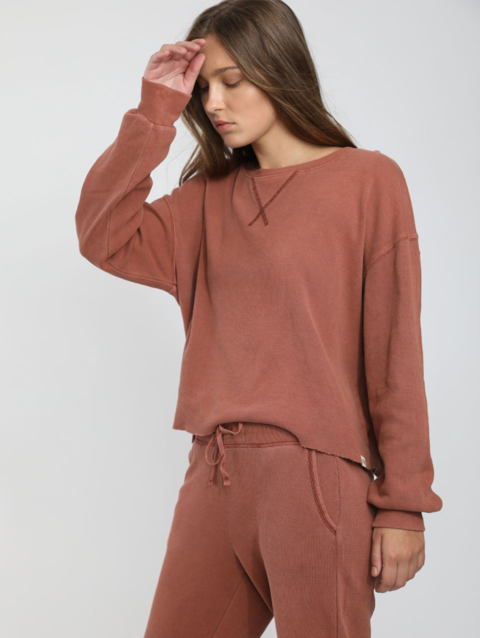 Womens Blake Crew Boat-neck