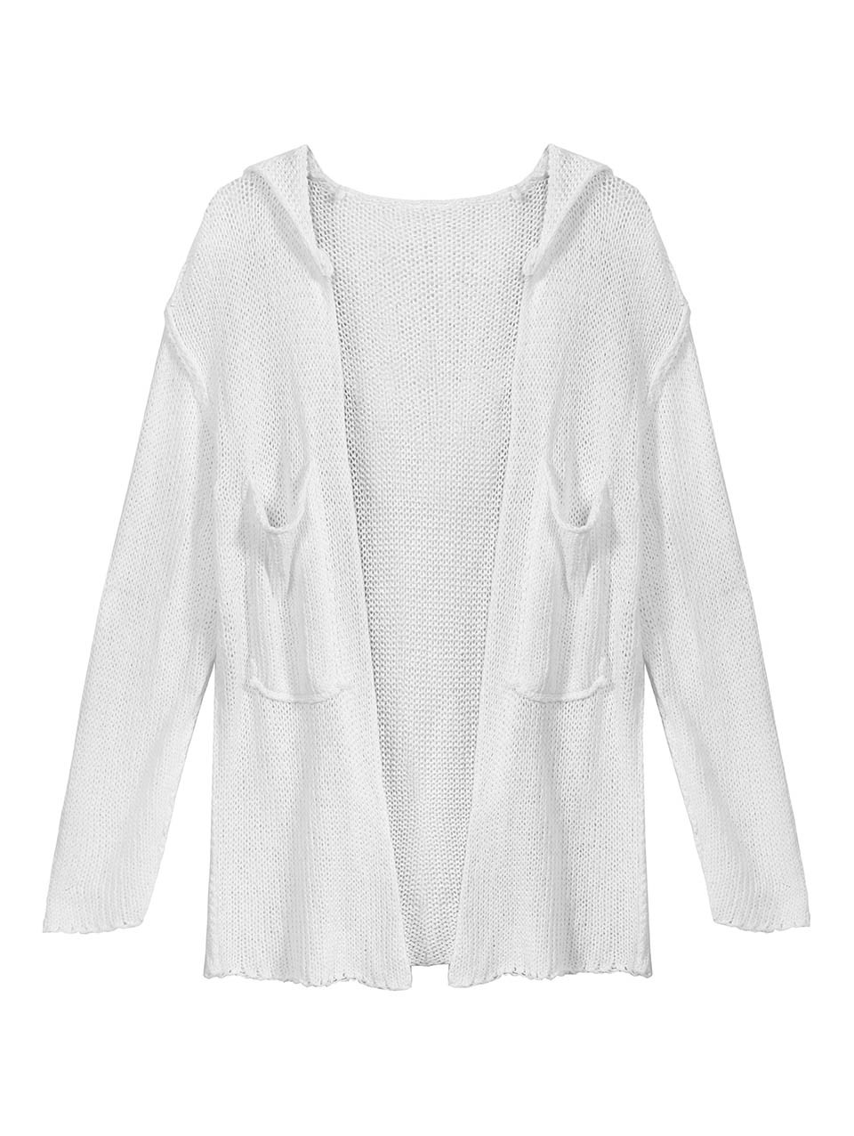 Liel Open Knit Cotton Cardigan
