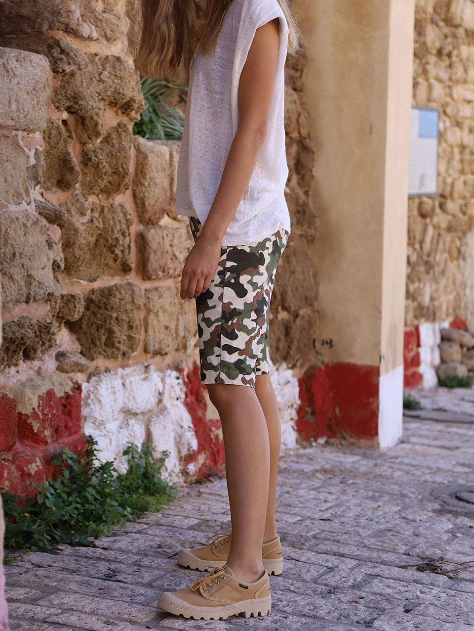 Uma Short Pants Chino Printed