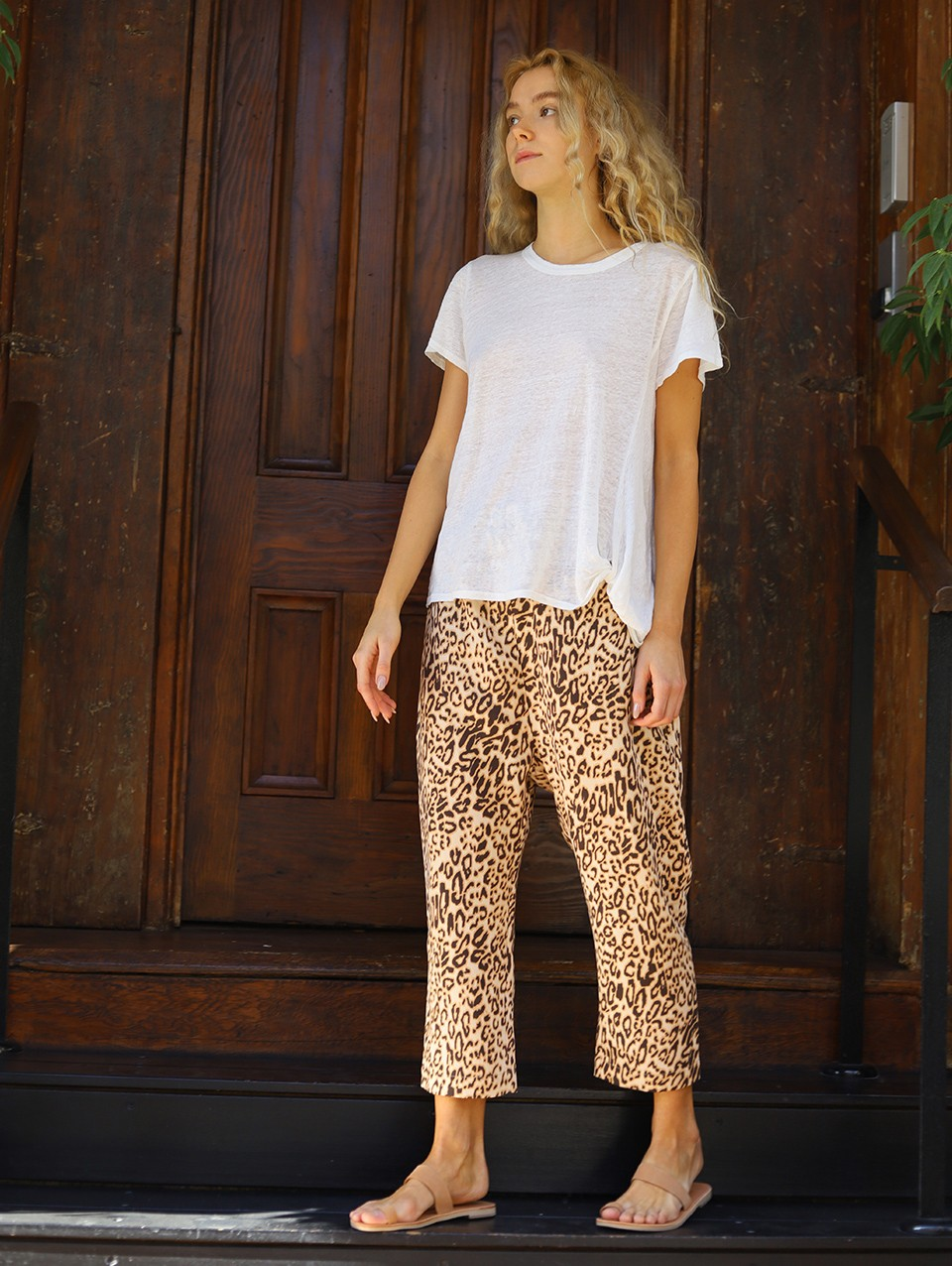 Blair  Printed Baggy Pants