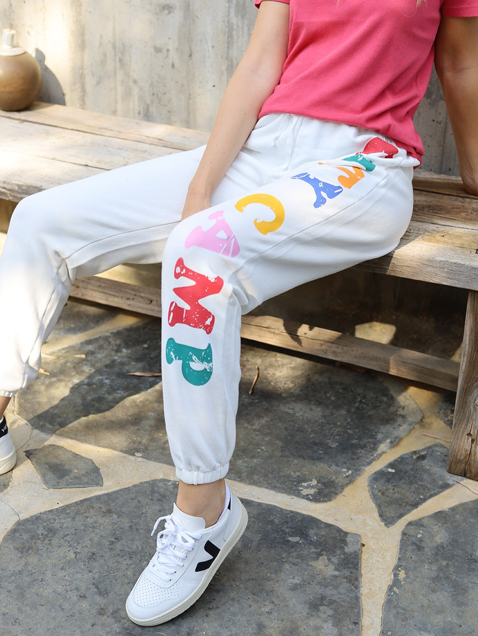 Eleanor Jogger Printed Pants