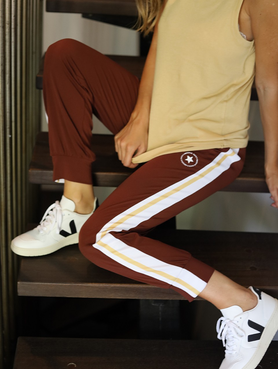 Ellie Sporty Jogger Pants