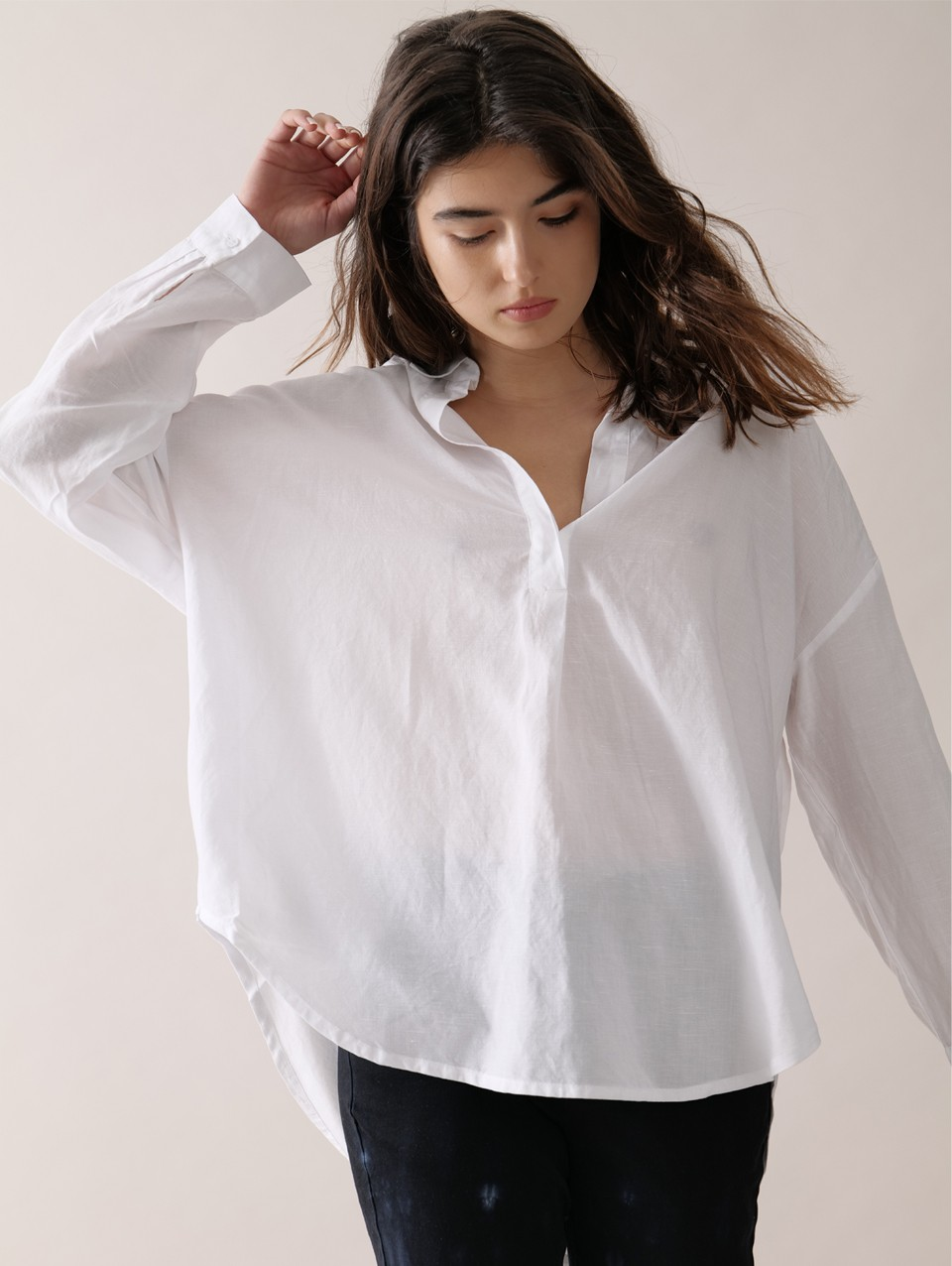 Raise Placket Blouse