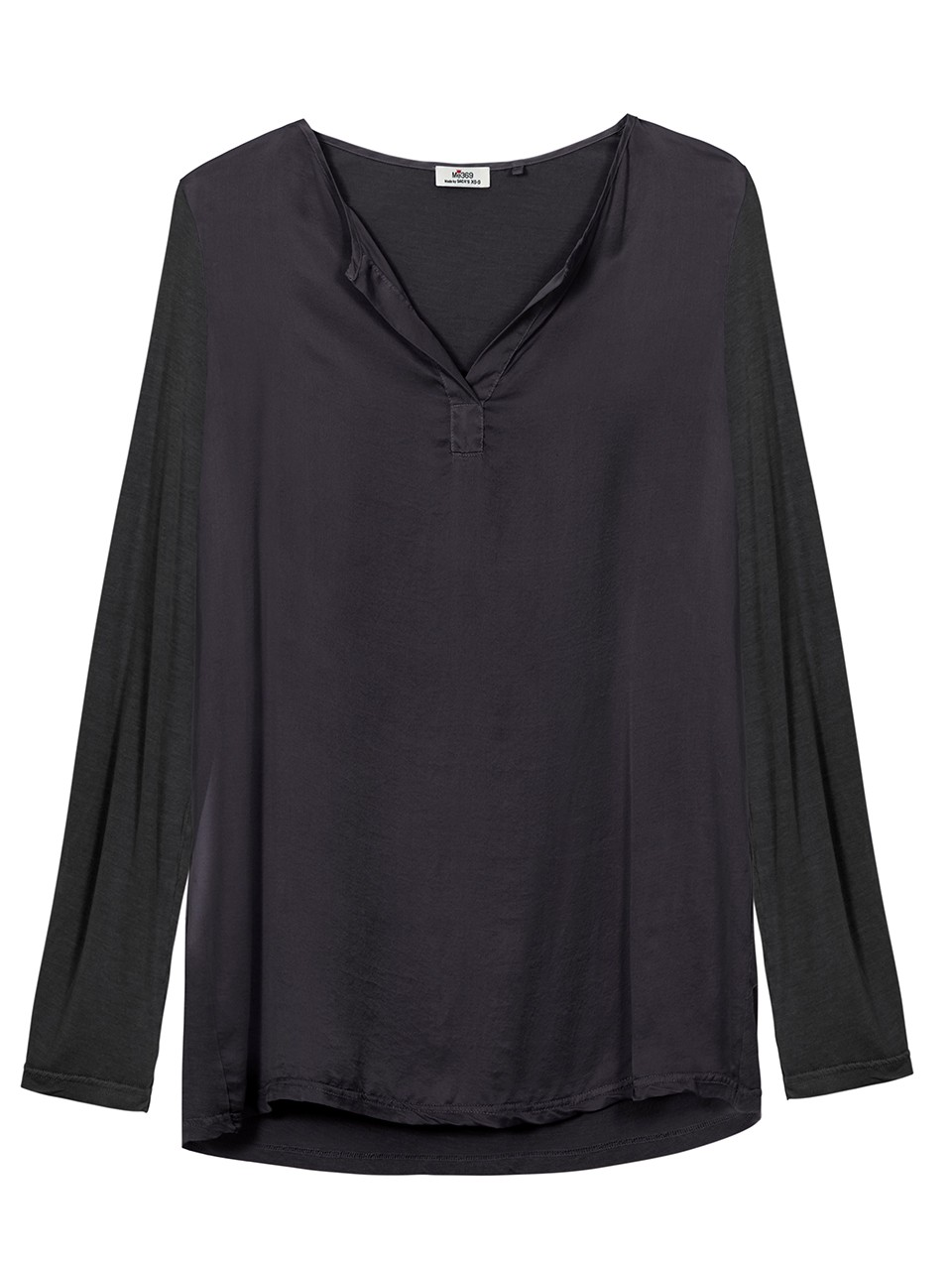 Amanda Long Sleeve Placket Blouse