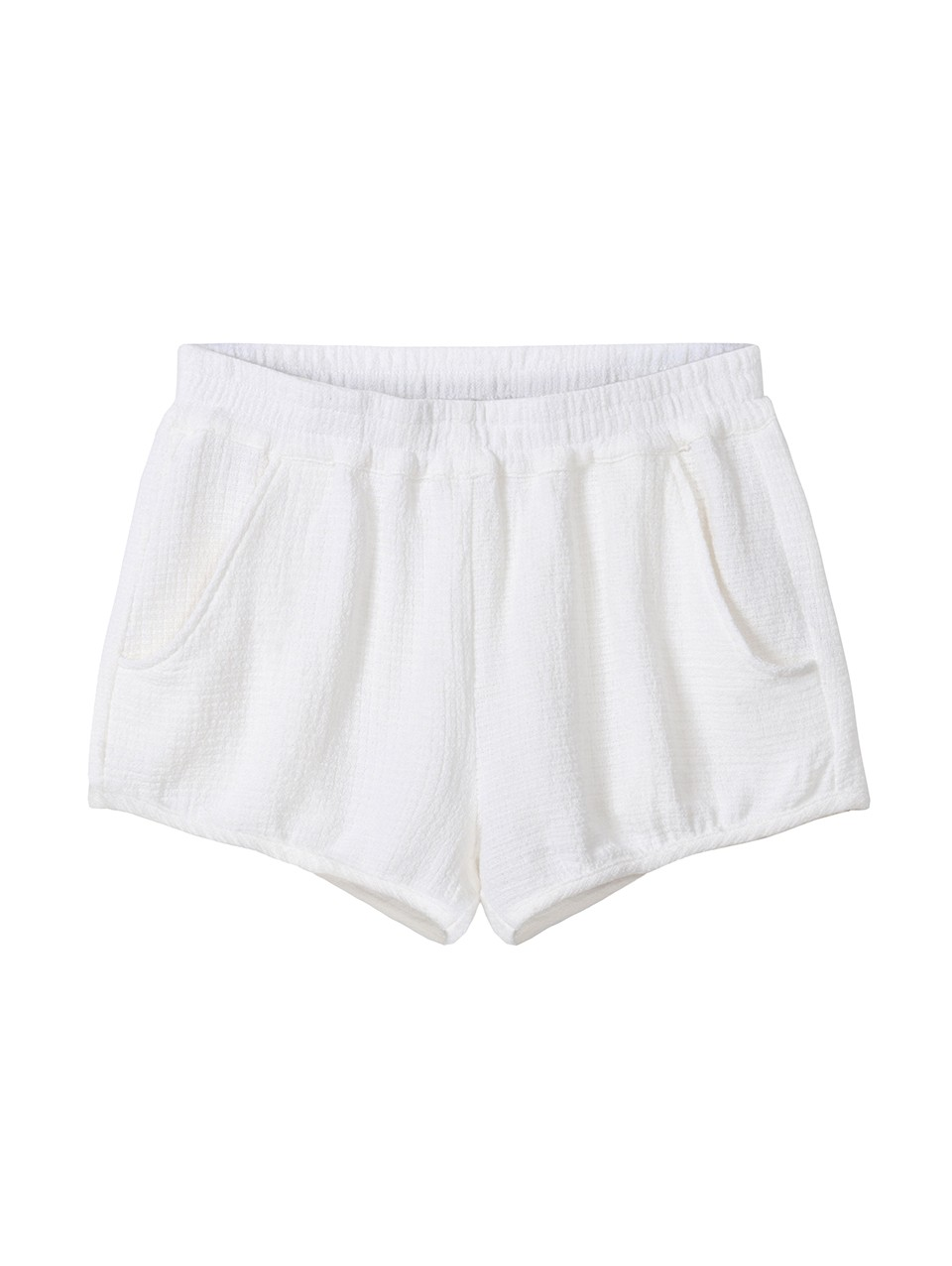 Klohe Textured Shorts
