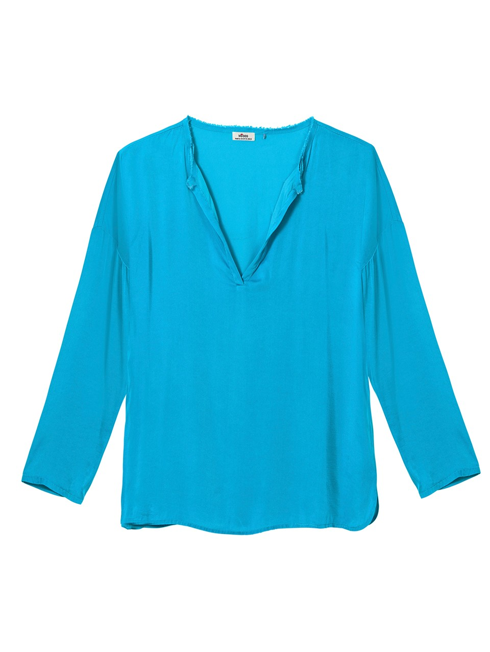 Clara Long Sleeve Placket Blouse