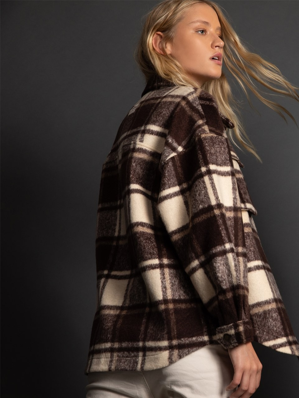 Gwen Checkered Jacket