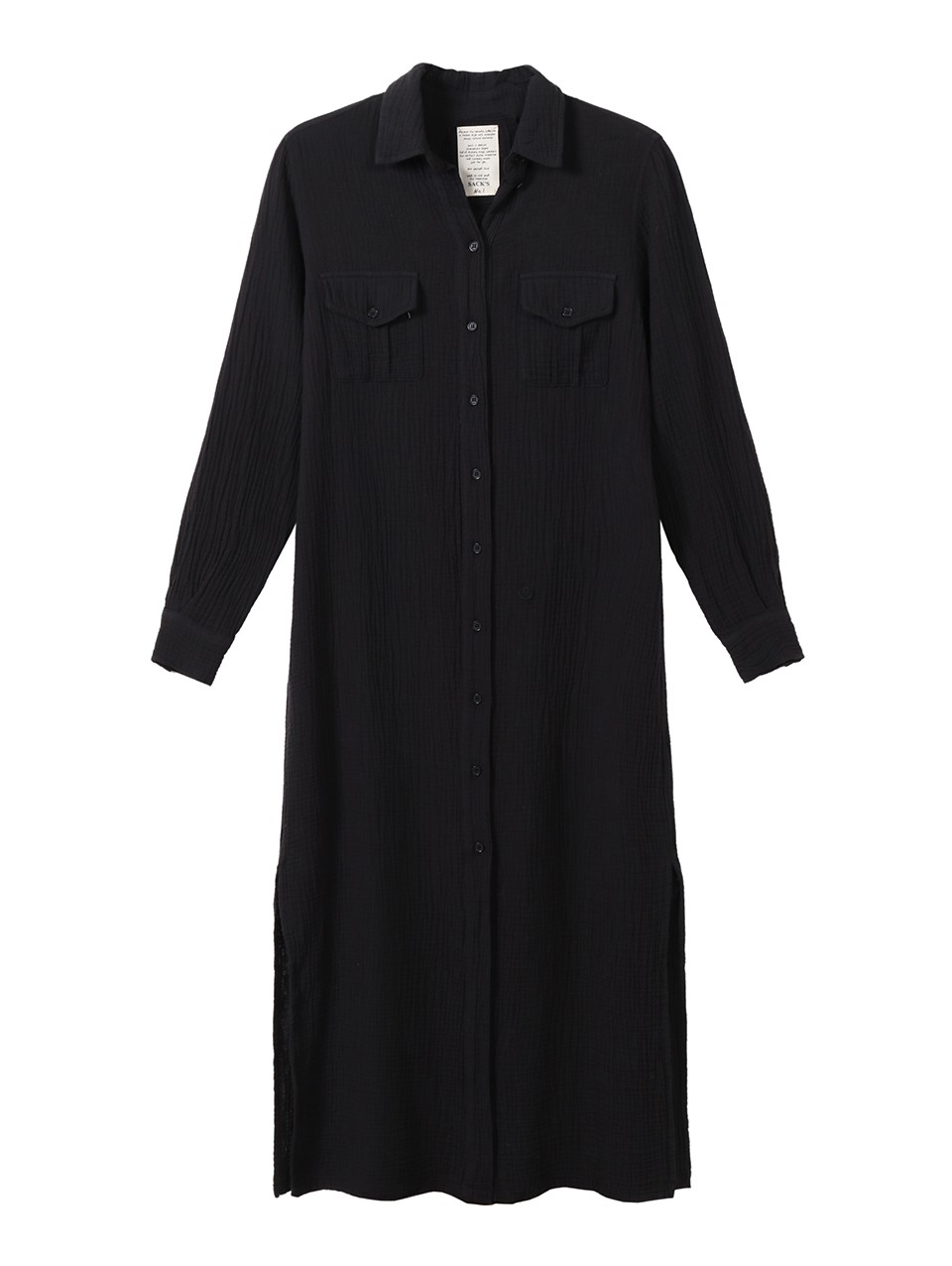 Sarah Wrinkled Shirt Dress