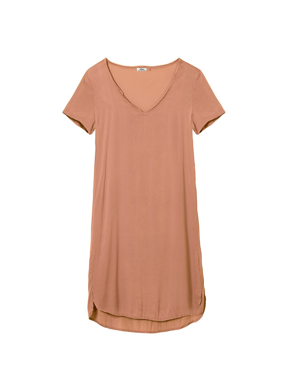Courteney V-Neck Tshirt Dress