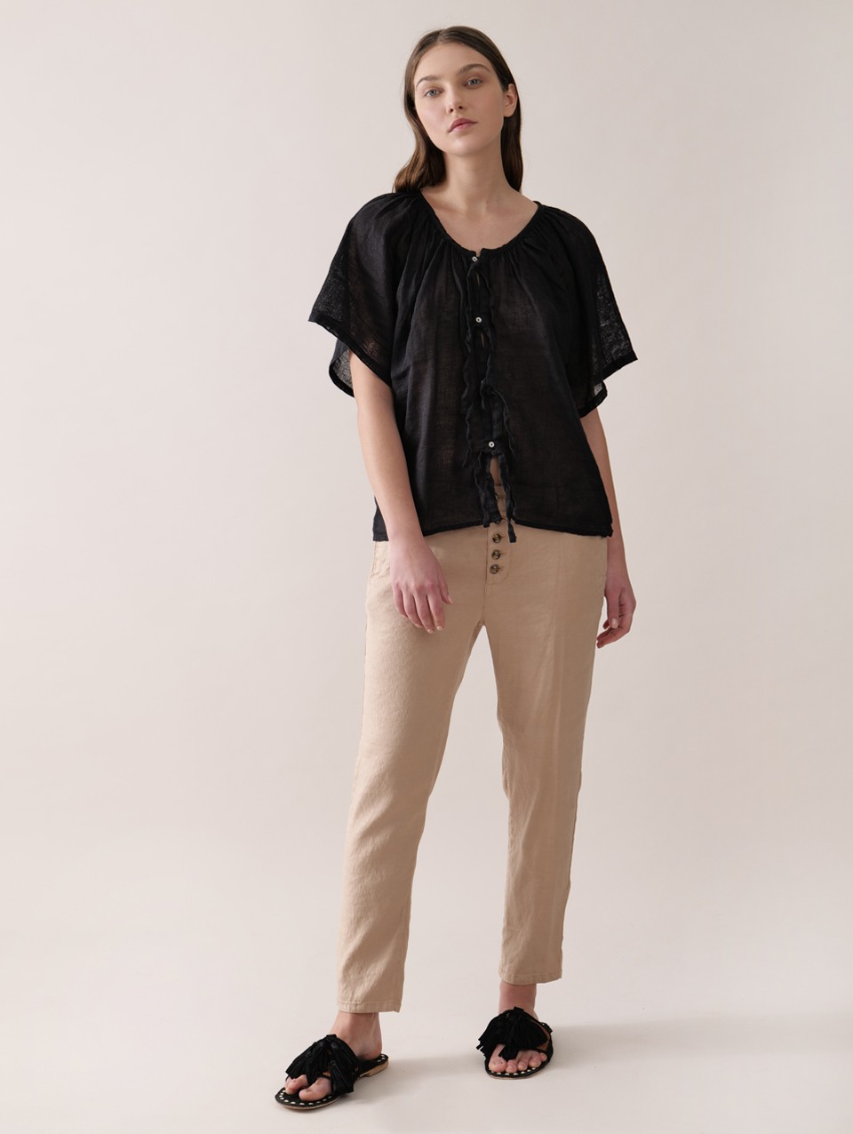Barbara Rustic Blouse