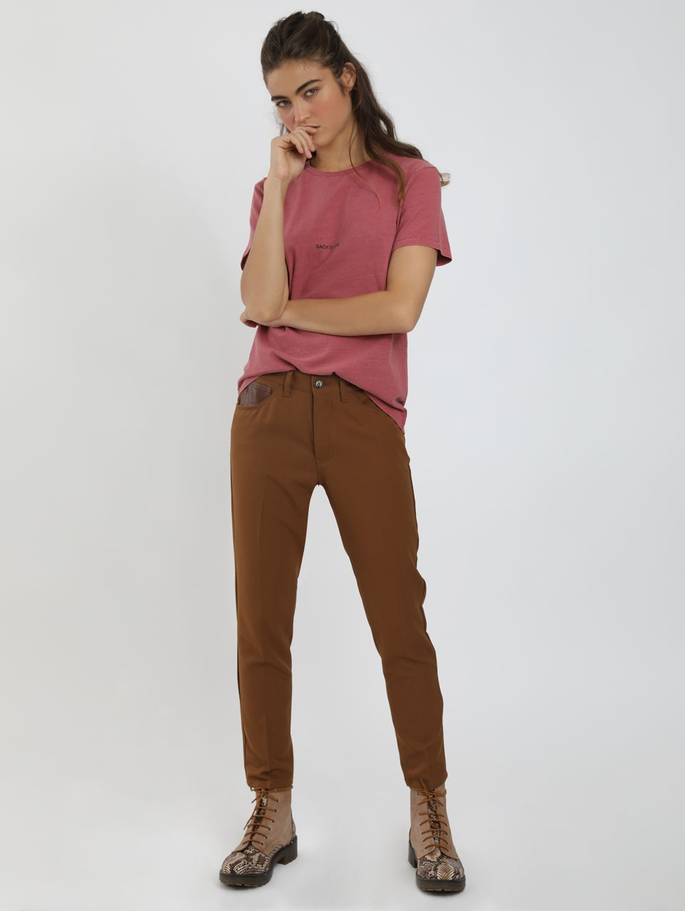 Jo Boyfriend 5 Pocket Pants