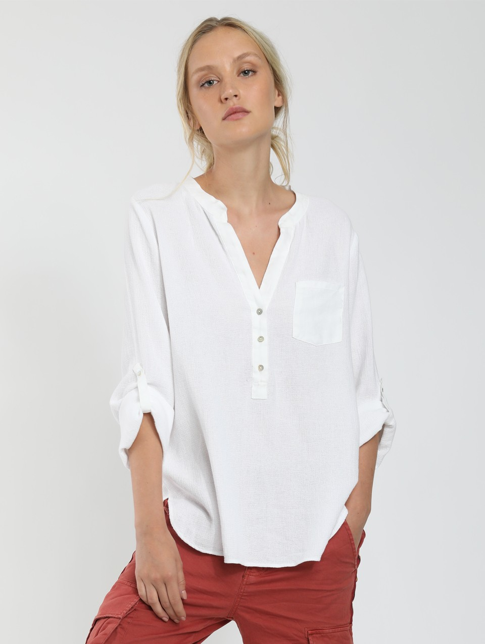 Chris Placket Blouse