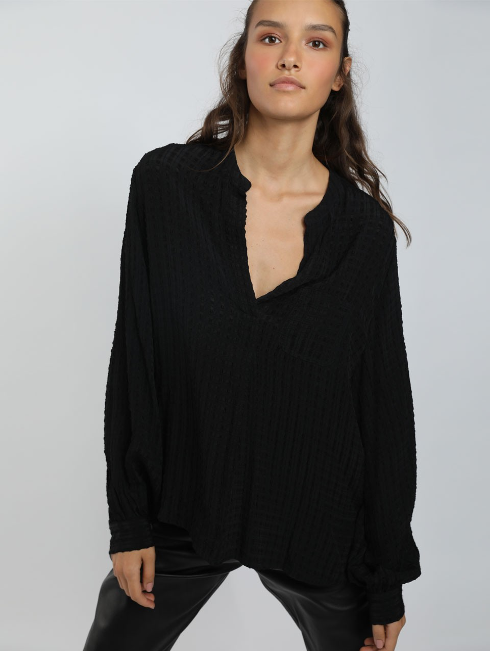 Remy Placket Blouse