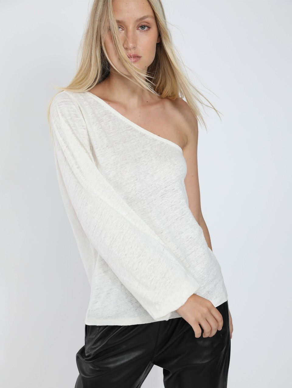 Emma One Shoulder Jersey