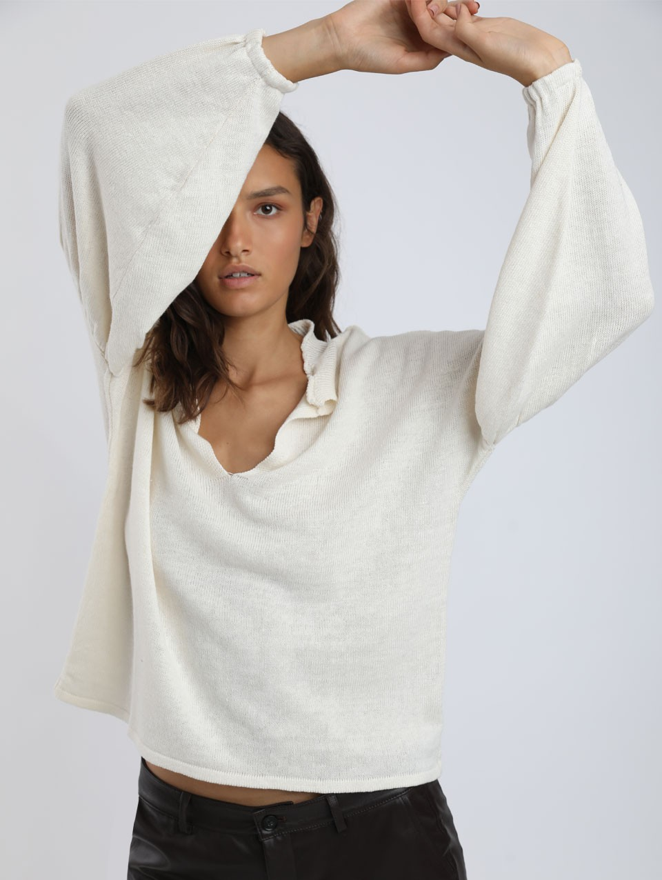 Dana Oversized Knit Top