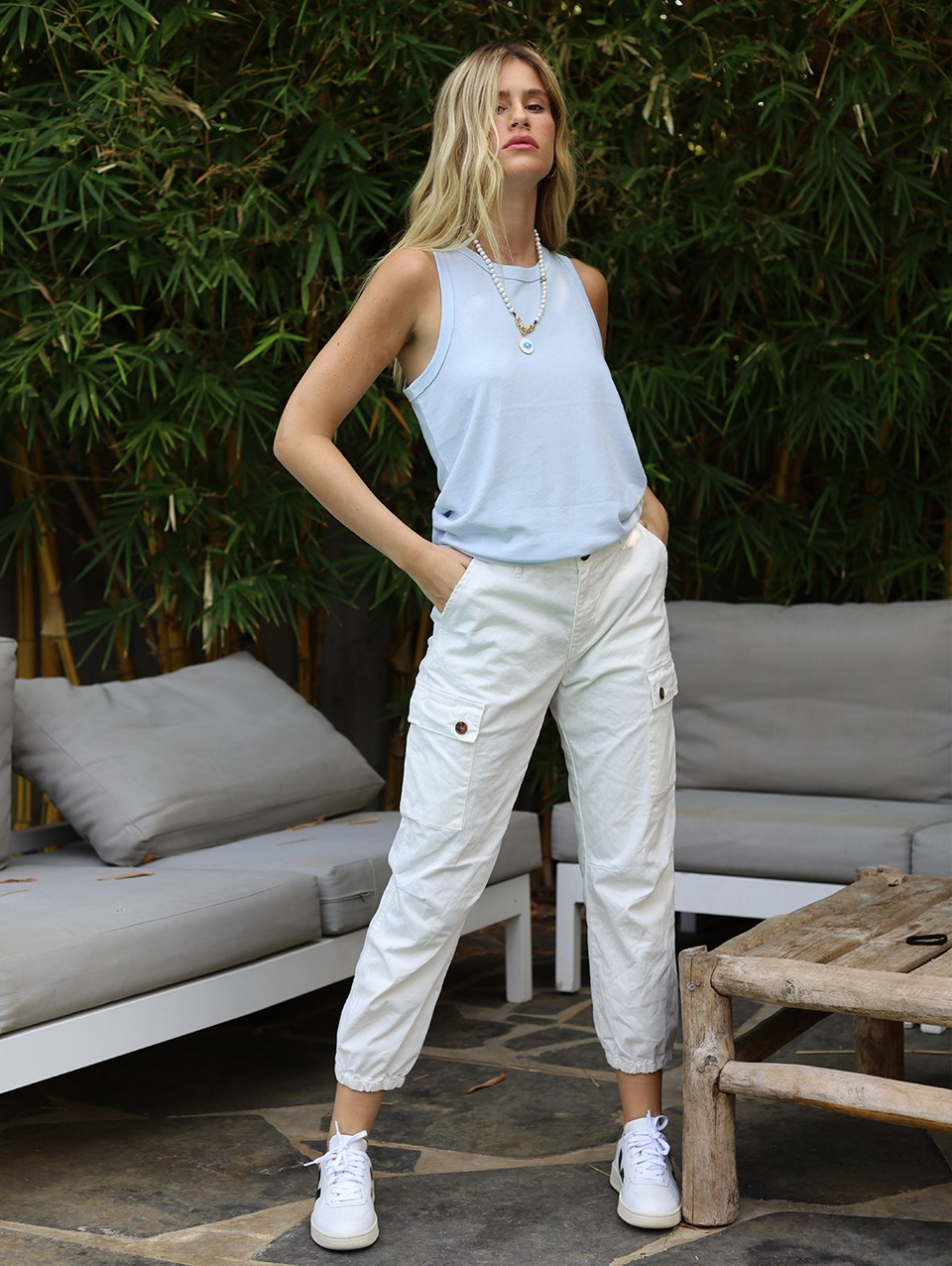 Isabella Long Cargo Pants