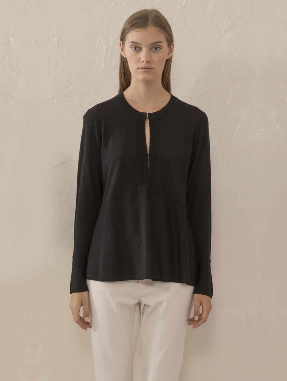 Lily Placket Knit Top