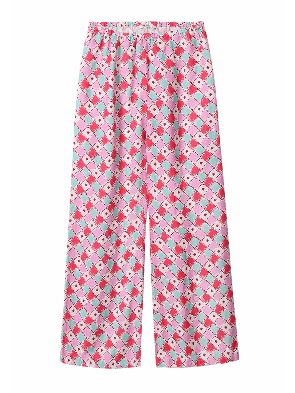 Veda Printed Wide Leg Pants