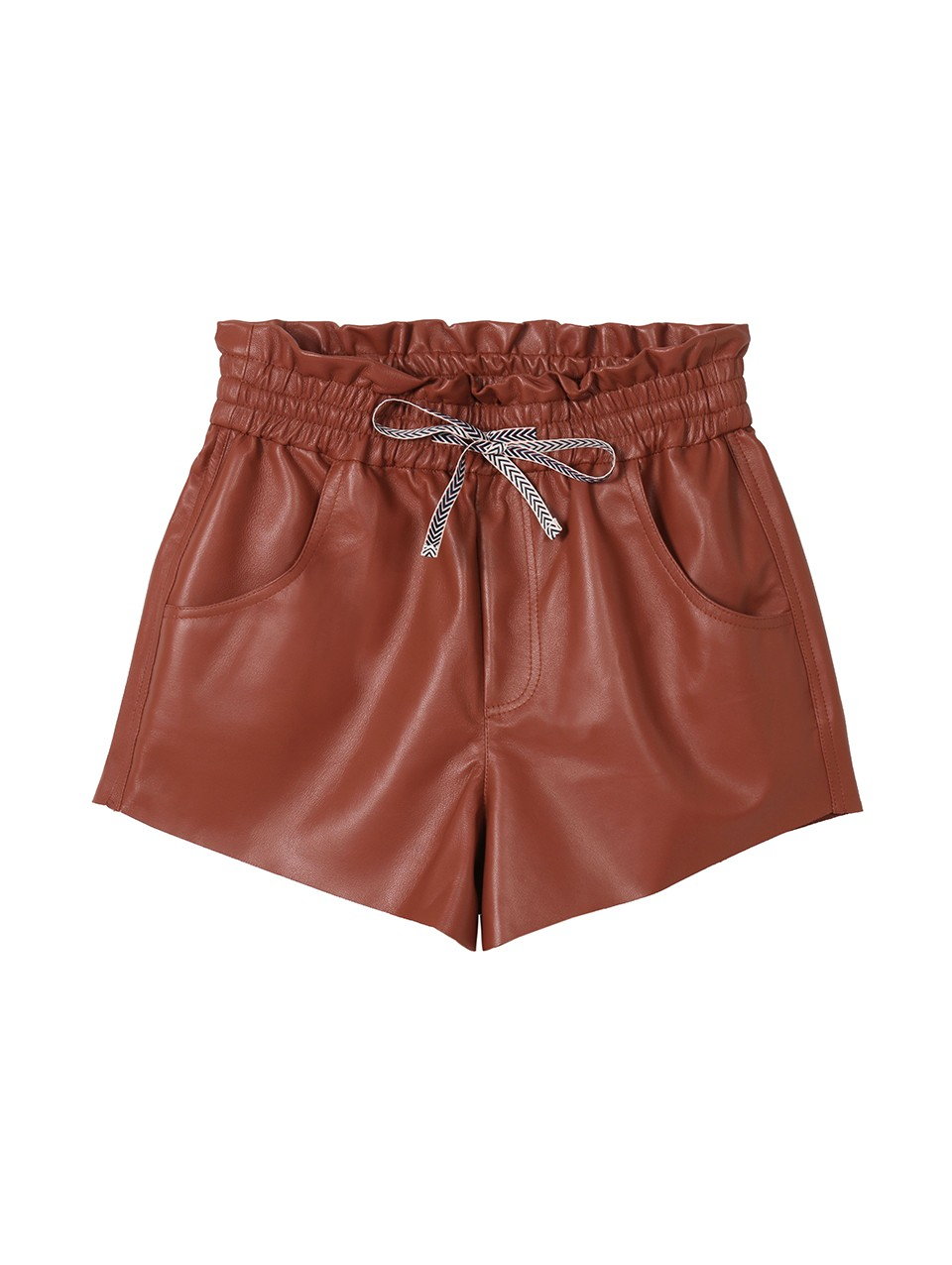 Eva Leather Shorts