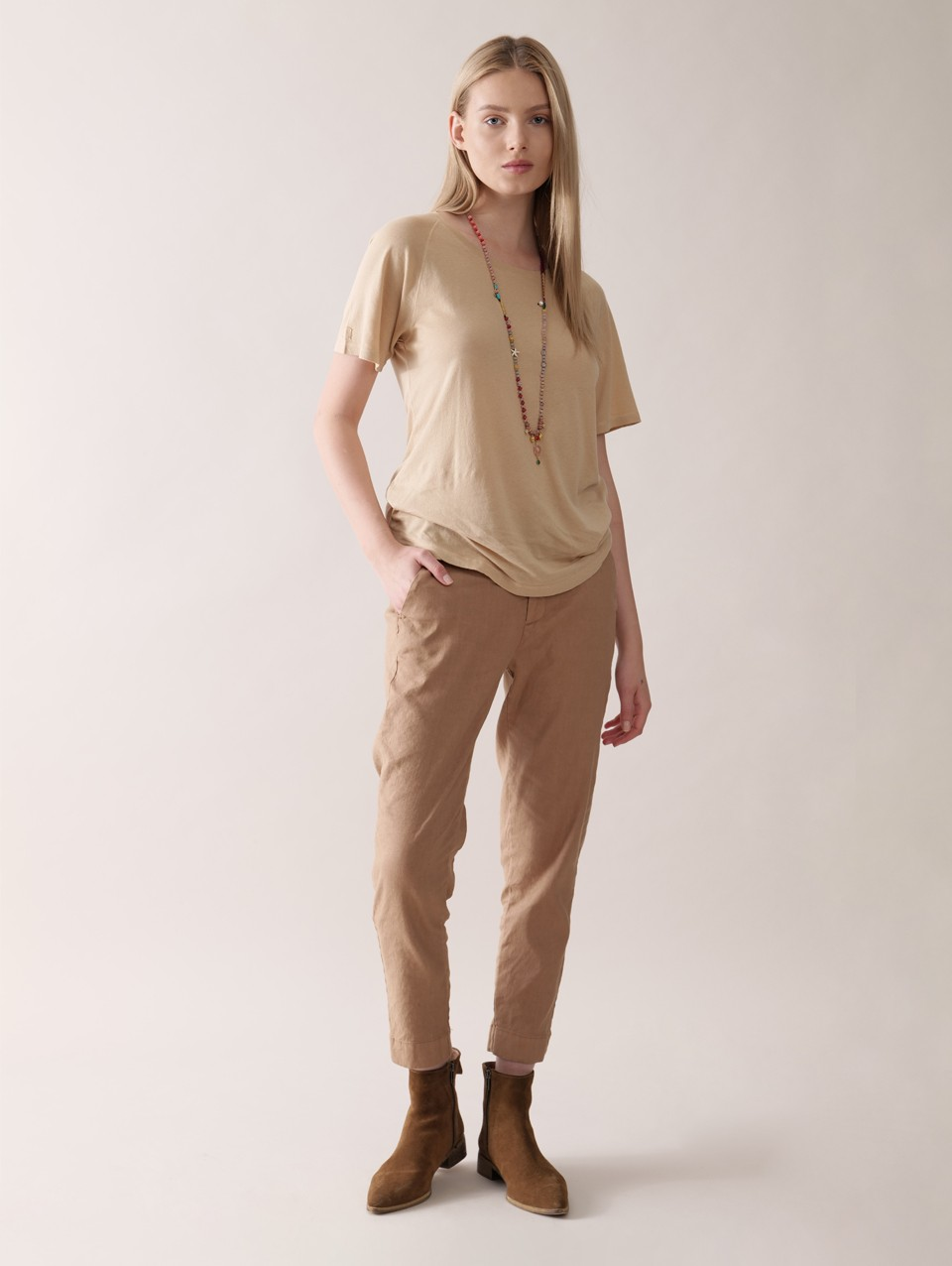 Cam' Skinny Cropped Pant