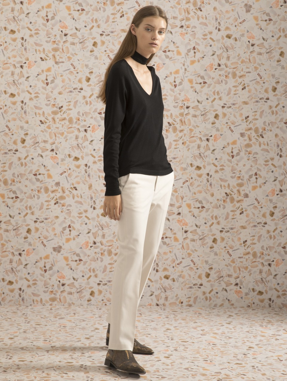 Anabelle Turtle Neck Knit