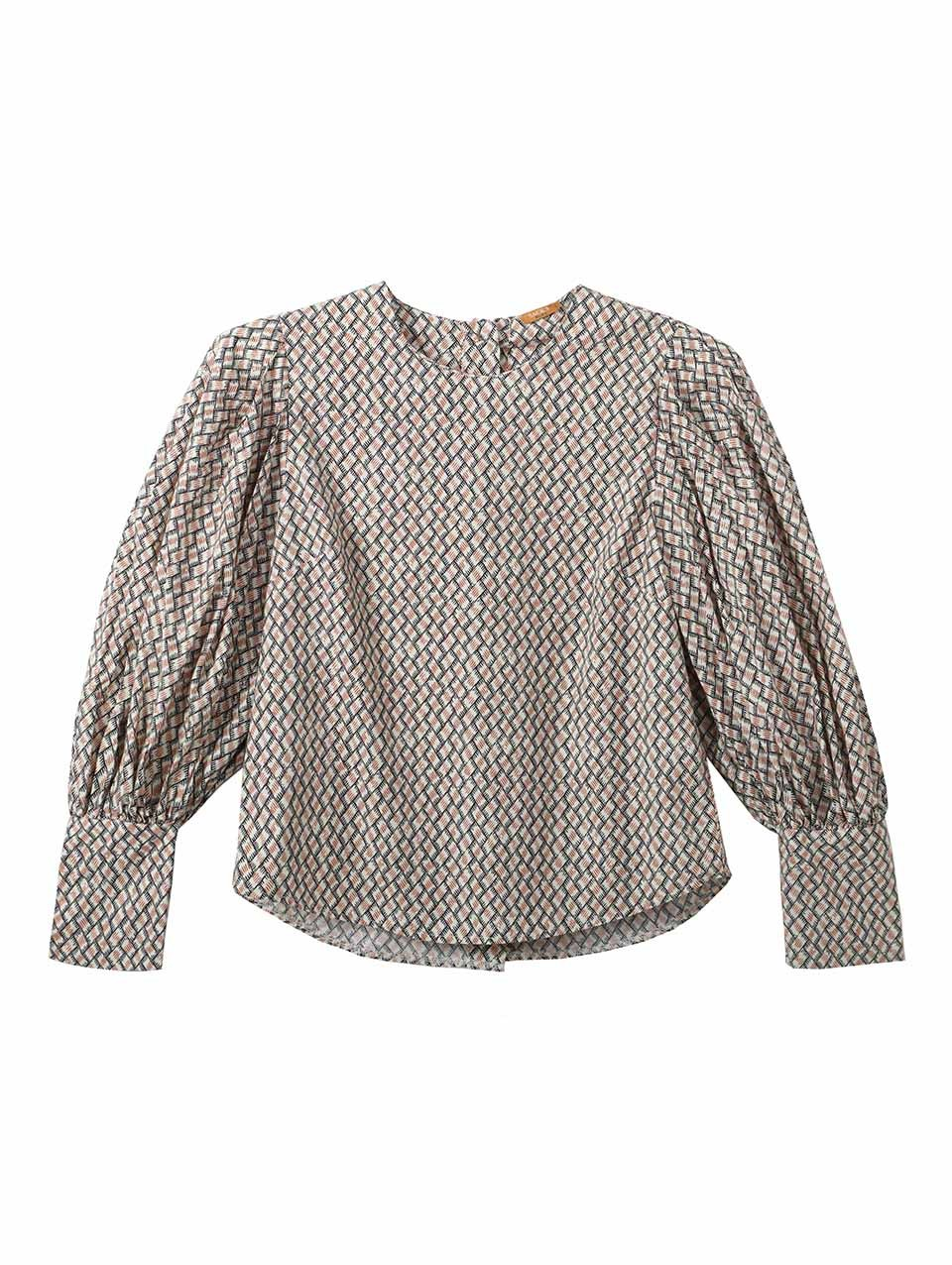 Tracy Puffed Sleeve Blouse