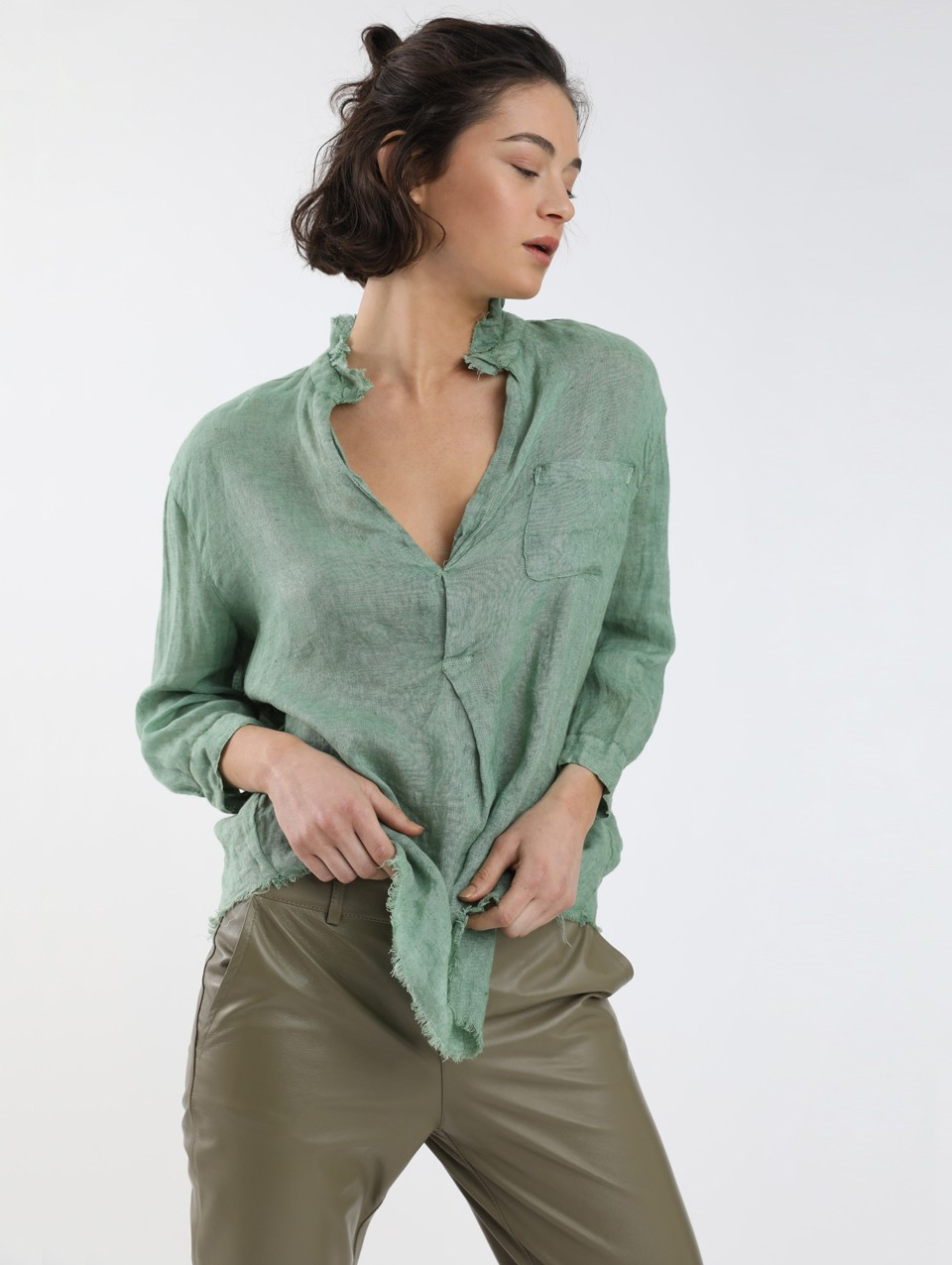 Will Placket Blouse