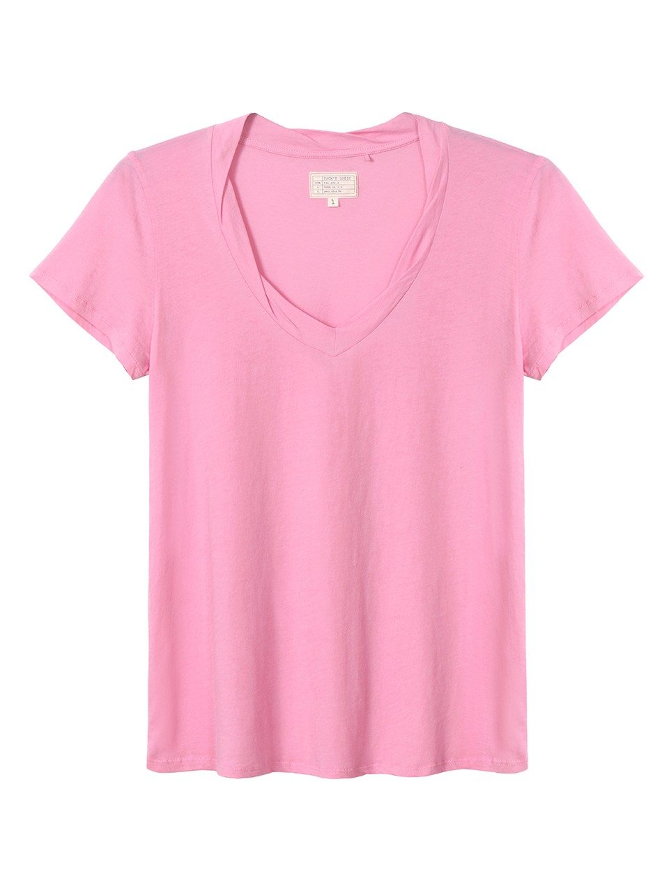 Grace V Neck 100% Cotton T-shirt