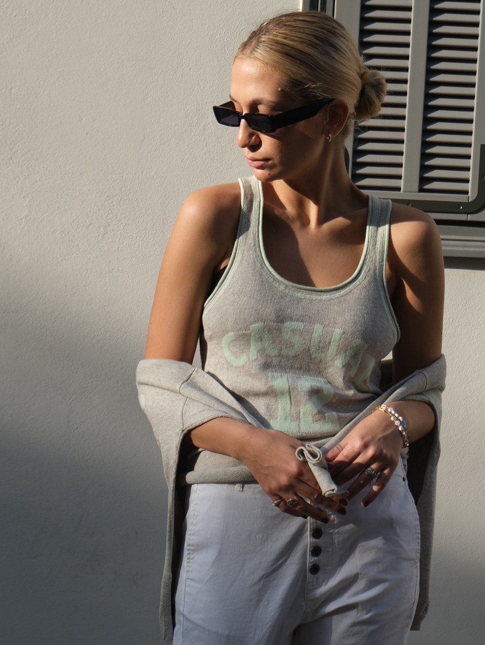 Jade Knitwear Knit Top Tank Top