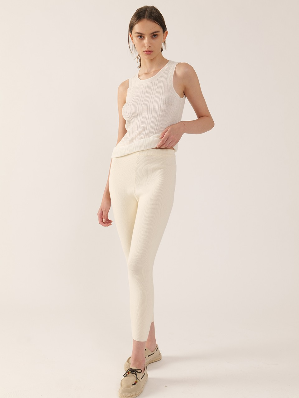 Nora Skinny Knitted Pants