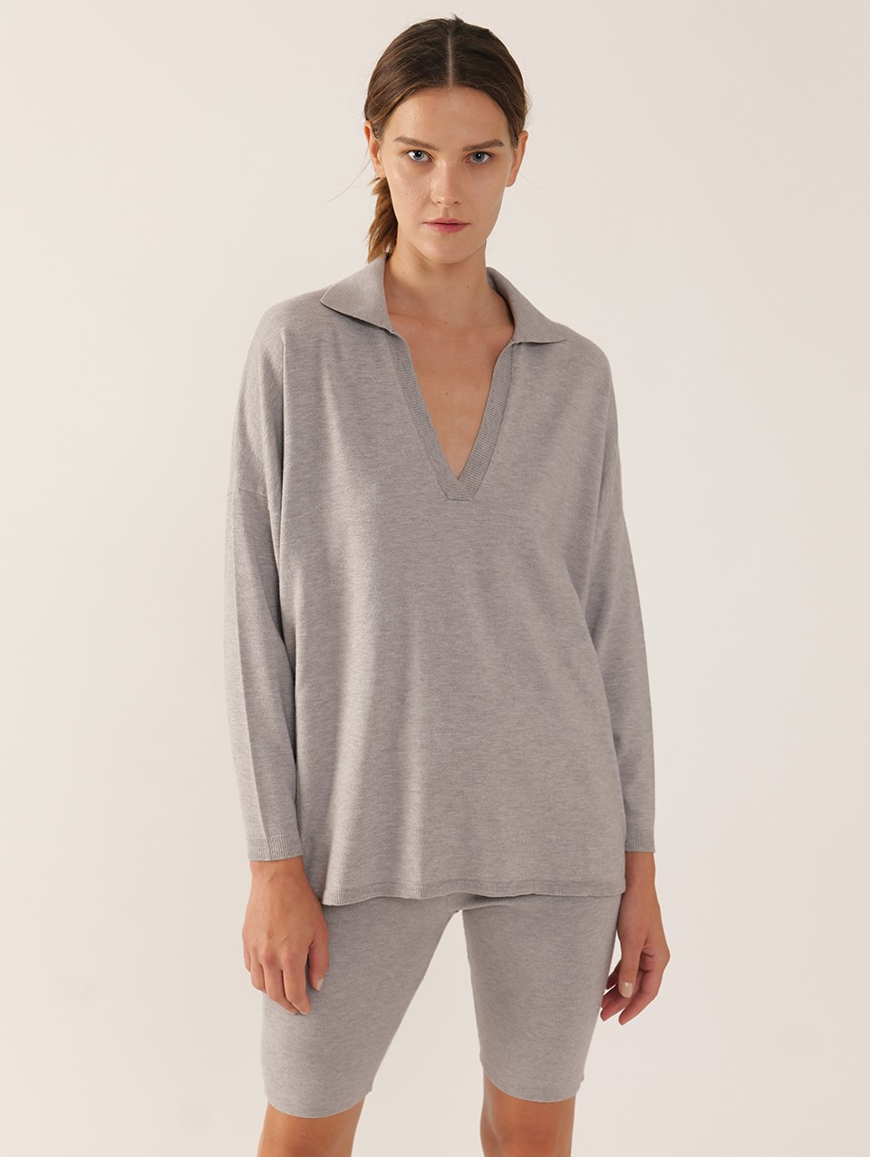 Stella Knitted Oversized Polo